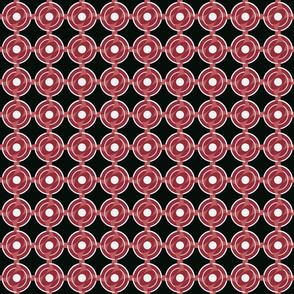 Bullseye Vesica Reddish