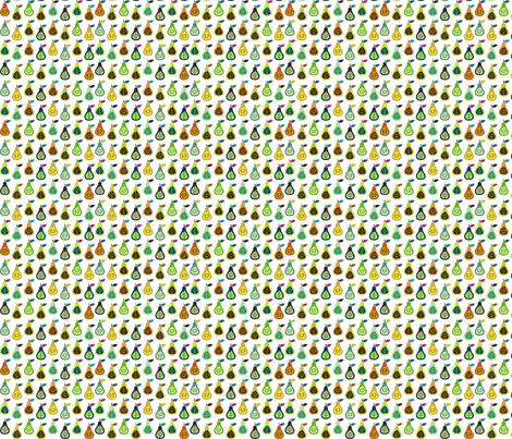 PearPops - Gumbo fabric by lollychops on Spoonflower - custom fabric