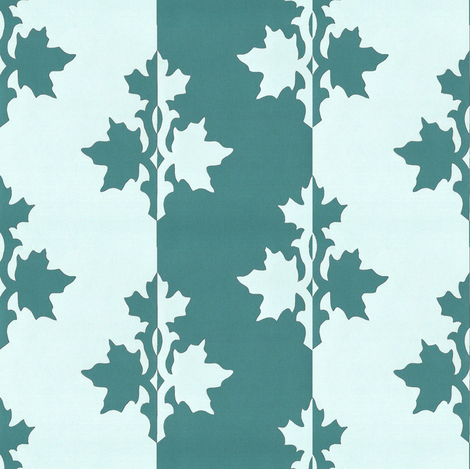 MINAGREEN_counterchange_stripe_aqua fabric by mina on Spoonflower - custom fabric