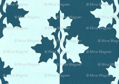DARK-BLUE-TEAL_counterchange_stripe_papercut_aqua