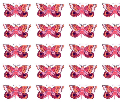 Blue_Moth_aa1 fabric by eelkat on Spoonflower - custom fabric
