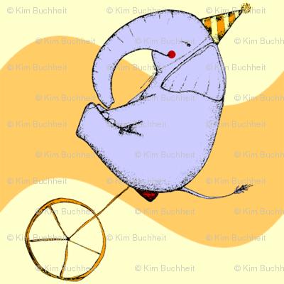 Unicycle Elephant