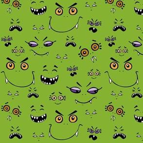 Monster Baybeez Green