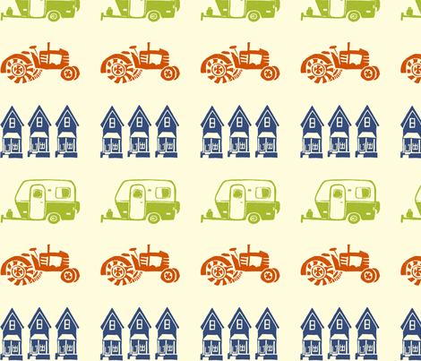 Combo_Group_Navy fabric by leannegraeff on Spoonflower - custom fabric