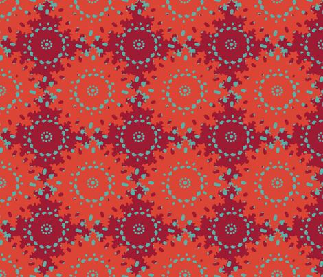 sunburst_double fabric by lfntextiles on Spoonflower - custom fabric