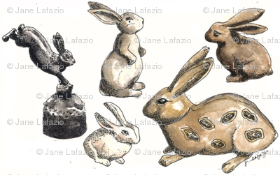 Rabbit Collection by Jane LaFazio