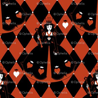 Queen of Hearts Red Diamond