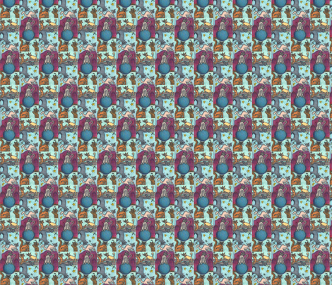 Cats_X7 fabric by michean on Spoonflower - custom fabric