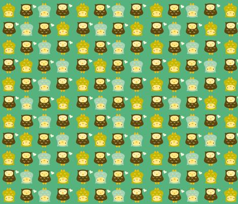 earthyowlslab fabric by luckyapple on Spoonflower - custom fabric