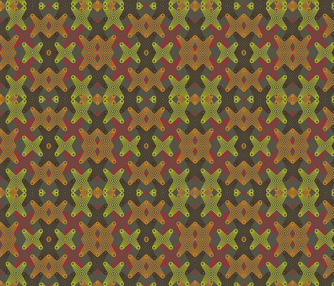Brown Rococo  fabric by dolphinandcondor on Spoonflower - custom fabric