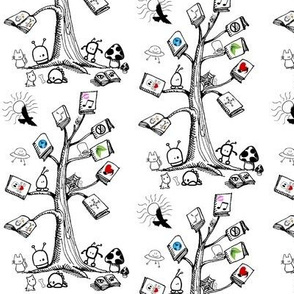 Book Tree (small scale) Book Contest entry