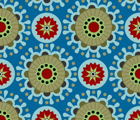 karneval 1 fabric by renule on Spoonflower - custom fabric