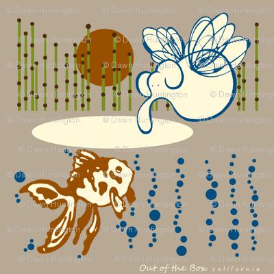 elephant-goldfish