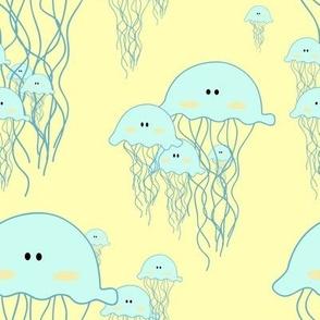 Bloom of Jellyfish - large