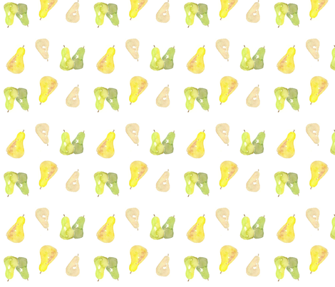 fat pears fabric by sweetwaterbaby on Spoonflower - custom fabric