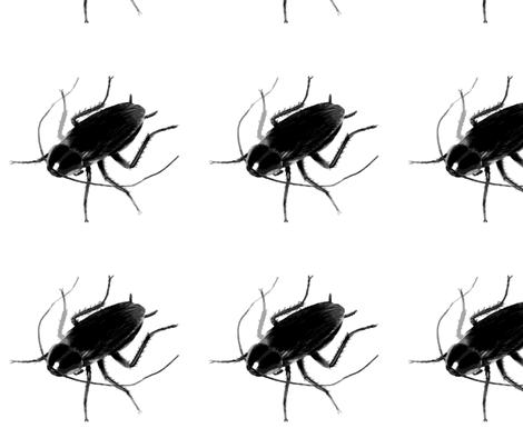 1_roach fabric by gypsylov1 on Spoonflower - custom fabric