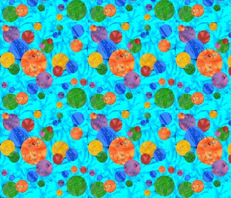 Batik Polka Dot 3 fabric by amy_lou_who on Spoonflower - custom fabric