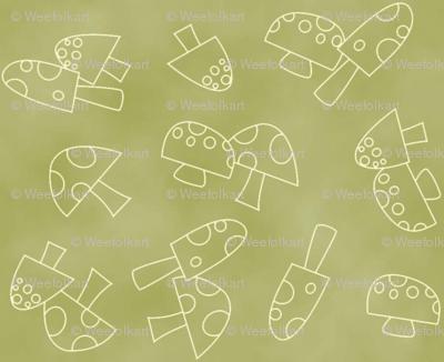 Gnome Toadstools/Mushrooms