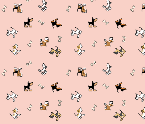 dogs_of_the_world2 fabric by mirthquake on Spoonflower - custom fabric