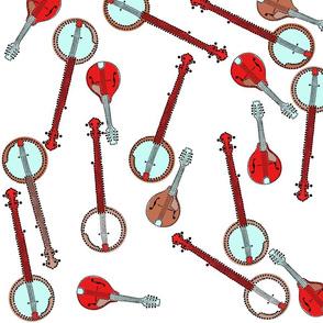 Mandolins and Banjos neutral