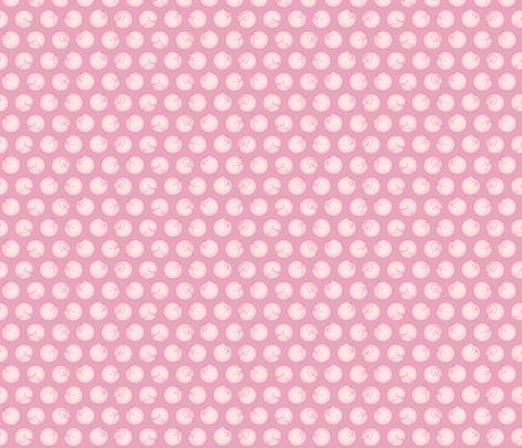 Pink Kitties fabric by beeskneesindustries on Spoonflower - custom fabric