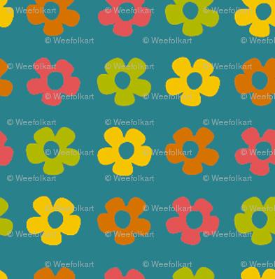 WeeFolkArt_Amigurumi_Friends_flowersonblue
