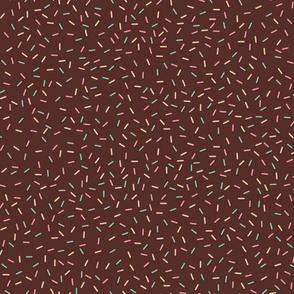 Sprinkles on Chocolate