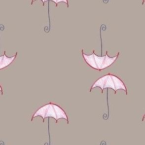 cute Umbrella Santa Mistura