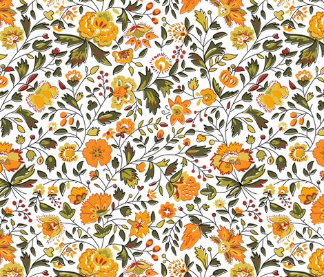 vintage fabric by dolphinandcondor on Spoonflower - custom fabric