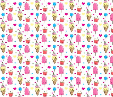 yummy_stuff fabric by charleydreams on Spoonflower - custom fabric