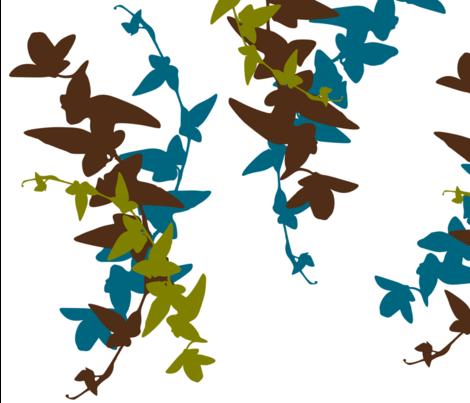 leaves_of_three fabric by lana_kole on Spoonflower - custom fabric