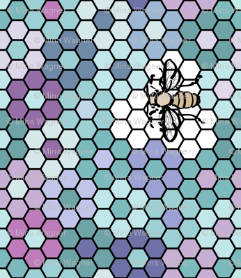 Honeycomb-3a-centers
