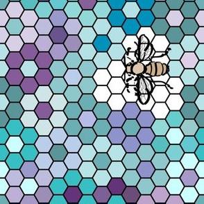 Honeycomb-Honeybee-3b