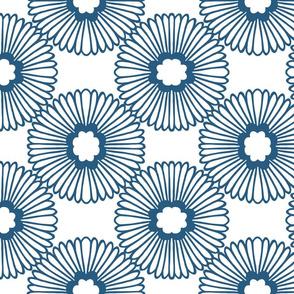 Flower - Denim