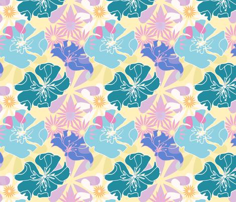 flowers fabric by mail@stefanievonhoesslin_com on Spoonflower - custom fabric