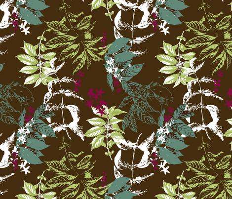 Kona_Brown fabric by jaclyn_pacheco on Spoonflower - custom fabric