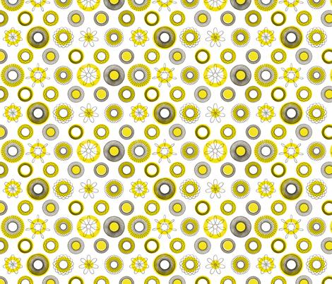 cerclesBiC fabric by falcó_ on Spoonflower - custom fabric