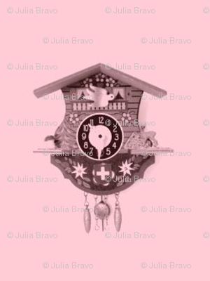 coo-coo clock/repeat pink 1