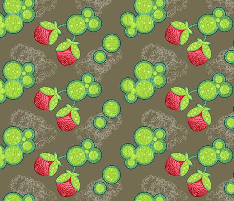 flower-011-ed fabric by vina on Spoonflower - custom fabric
