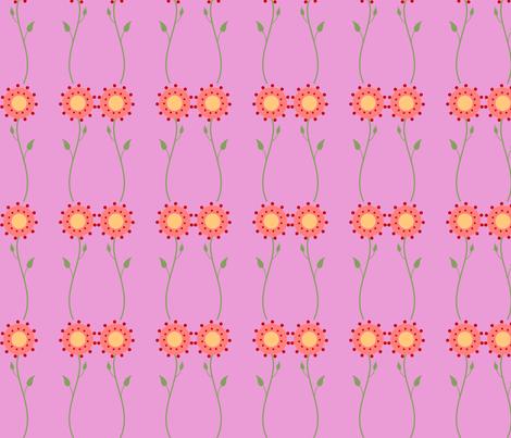 sunflower_fabric_2 fabric by vo_aka_virginiao on Spoonflower - custom fabric