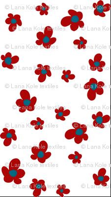 Bloom in Ruby, Summer Joy Collection by Lana Kole