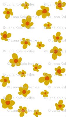 Bloom in Mustard, Summer Joy Collection by Lana Kole