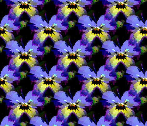 Violet 1 fabric by vib on Spoonflower - custom fabric