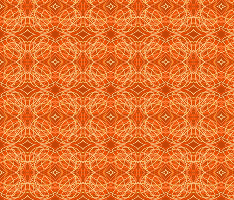 Orange Stuff fabric by eelkat on Spoonflower - custom fabric