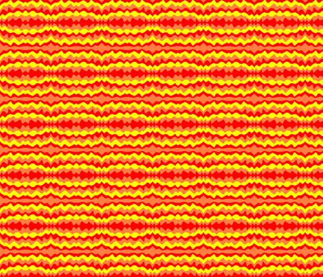 Jordan's Fire Paint fabric by eelkat on Spoonflower - custom fabric
