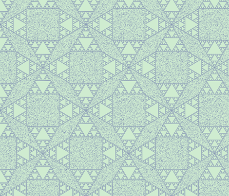 sierpinski pointillism 2 fabric by jonas on Spoonflower - custom fabric