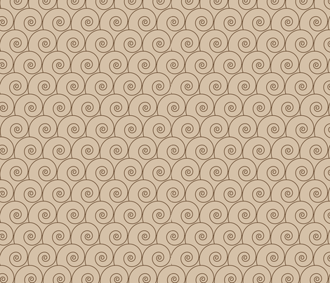 spiral pattern fabric by suziedesign on Spoonflower - custom fabric