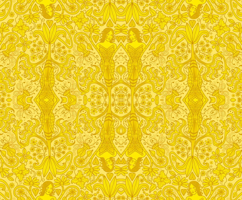 The Yellow Wallpaper Giftwrap