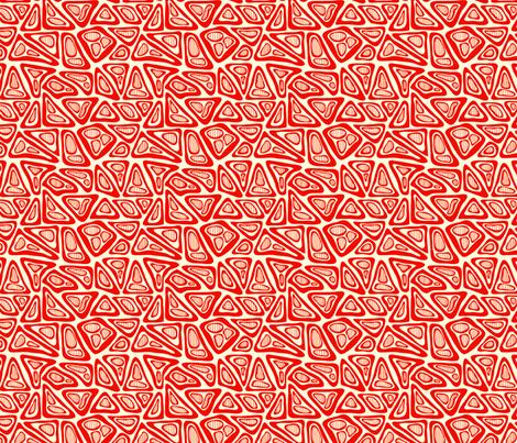 Orange Blobs fabric by totallysevere on Spoonflower - custom fabric