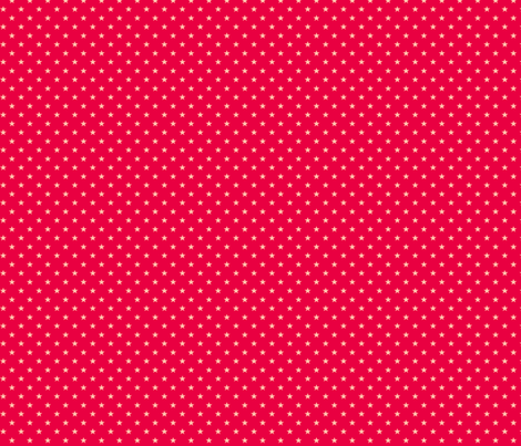 Stars on red fabric by hamburgerliebe on Spoonflower - custom fabric